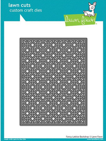 Fancy Lattice Backdrop Die, Lawn Fawn