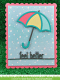 Feel Better Line Border Die, Lawn Fawn