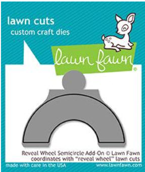 Reveal Wheel Semicircle Add-On Die, Lawn Fawn