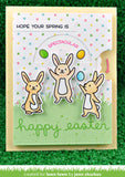 Reveal Wheel Spring Sentiments Stamp Set, Lawn Fawn