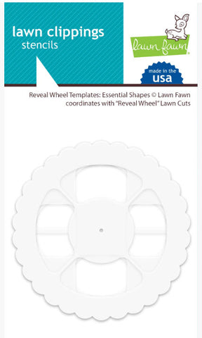 Reveal Wheel Templates - Essential Shapes, Lawn Fawn