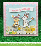 Wavy Sayings Stamp Set, Lawn Fawn