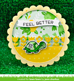 Get Well Before N Afters Stamp Set, Lawn Fawn