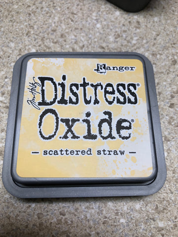 Scattered Straw, Distress Oxide Pad, Tim Holtz