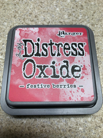 Festive Berries, Distress Oxide Pad, Tim Holtz