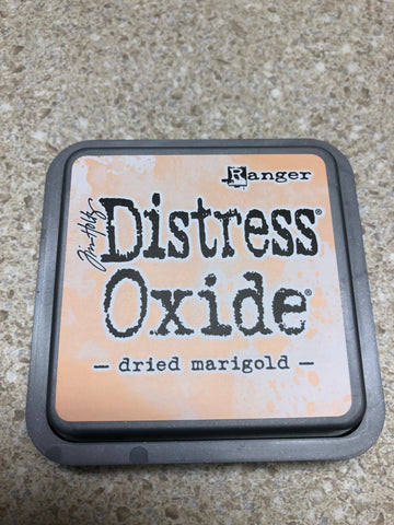 Dried Marigold, Distress Oxide Pad, Tim Holtz