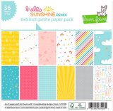 Hello Sunshine Remix Petite Paper Pack, Lawn Fawn