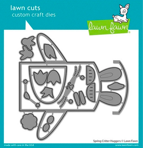 Spring Critter Huggers Die, Lawn Fawn