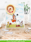 Outside In Stitched Balloon Stackables Die, Lawn Fawn
