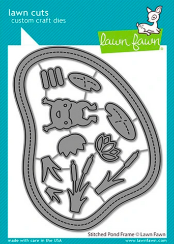 Stitched Pond Frame Die, Lawn Fawn