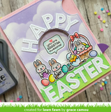 Easter Before 'n Afters Stamp Set, Lawn Fawn