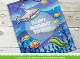 Offset Sayings:  Birthday Stamp Set, Lawn Fawn