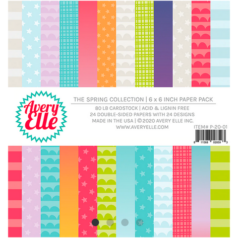 The Spring Collection Paper Pad, Avery Elle