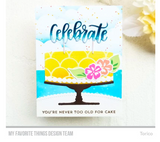 Bitty Birthday Wishes Stamp Set, My Favorite Things Rubber Stamps