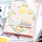 Believe in Yourself Stamp Set, Pinkfresh Studio
