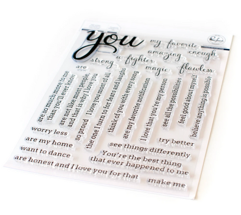 Simply Sentiments - You Stamp Set, Pinkfresh Studio
