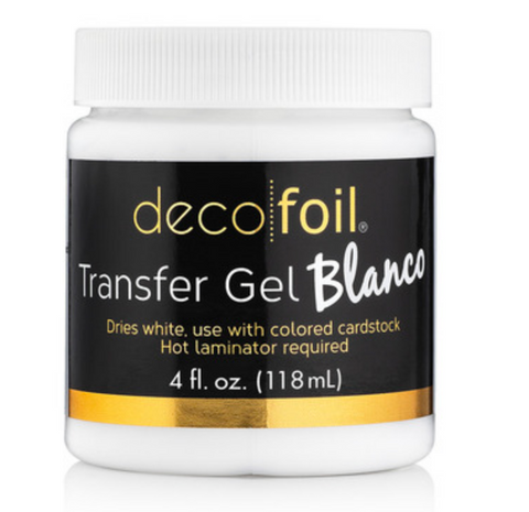 Deco Foil Transfer Gel Blanco, Therm O Web