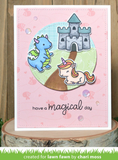 Little Dragon Stamp Set, Lawn Fawn