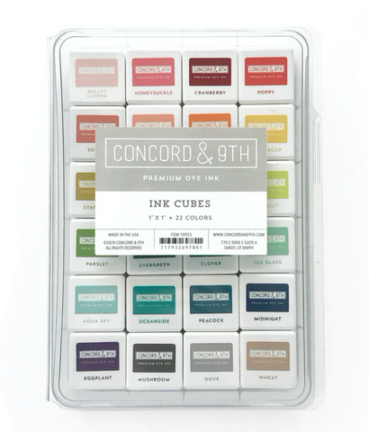 Ink Cubes Bundle, Concord and 9th