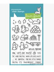 Let's Go Nuts Stamp Set, Lawn Fawn