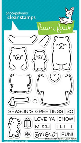 Snow Much Fun Stamp Set, Lawn Fawn