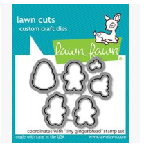 Tiny Gingerbread Dies, Lawn Fawn