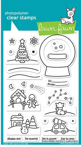 Snow Globe Scenes Stamp Set, Lawn Fawn