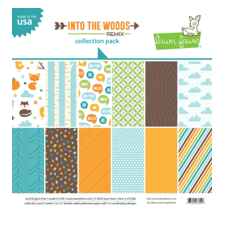 Into the Woods Remix 12x12 Paper Pack, Lawn Fawn