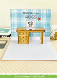 Long Distance Hugs Stamp Set, Lawn Fawn