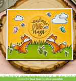 Sunburst Backdrop Die, Lawn Fawn