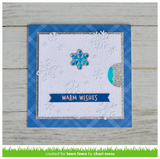 Reveal Wheel Snowflake Add-On, Lawn Fawn