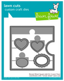 Reveal Wheel Square Add-On, Lawn Fawn