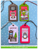 Say What? Gift Tags Die, Lawn Fawn
