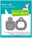 Reveal Wheel Pick of the Patch Add-On Die, Lawn Fawn