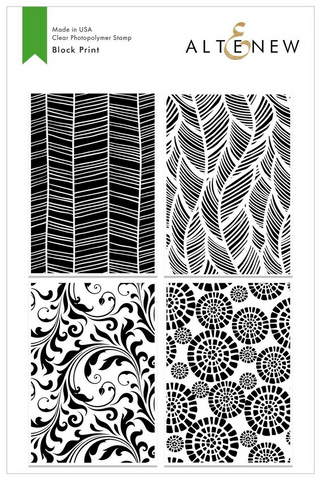 Block Print Stamp Set, Altenew
