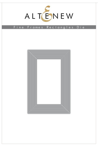 Fine Frames Rectangles Cover Die, Altenew