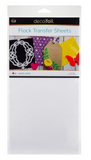 Thermo Web, White Latte Flock Transfer Sheets, Deco Foil