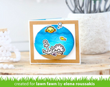 Keep on Swimming Stamp Set, Lawn Fawn