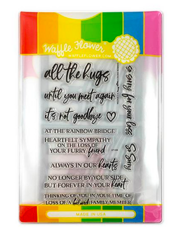 Rainbow Bridge Stamp & Die Bundle, Altenew