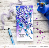 Pen Sketched Flowers Stamp Set, Altenew