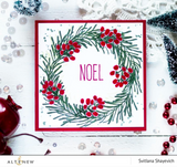 Sophisticated Wreath Stamp & Die Bundle, Altenew