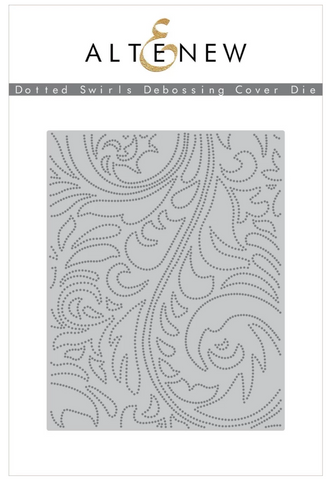 Dotted Swirls Debossing Cover Die, Altenew