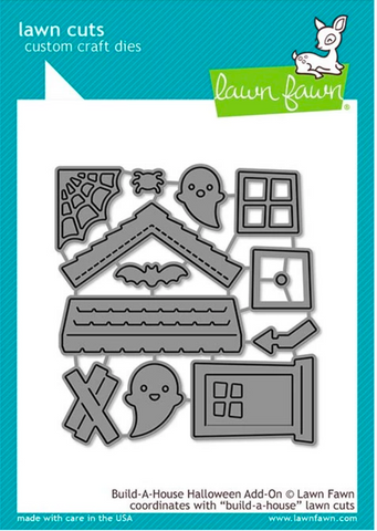 Build a House Halloween Add-On Die, Lawn Fawn