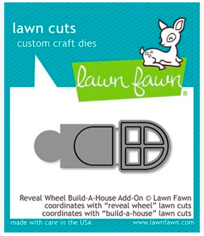 Reveal Wheel Build A House Add-On Die, Lawn Fawn