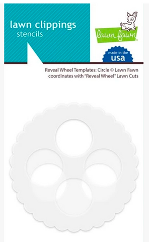 Reveal Wheel Templates - Circle, Lawn Fawn