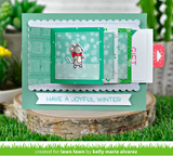 Mice on Ice Stamp and Die Set, Lawn Fawn