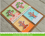 Tree Before 'n Afters Stamp and Die Set, Lawn Fawn