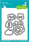How You Bean? Christmas Cookie Add-On Stamp and Die Set, Lawn Fawn