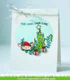 Christmas Fishes Stamp and Die Set, Lawn Fawn
