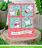 Yeti or Not Stamp and Die Set, Lawn Fawn